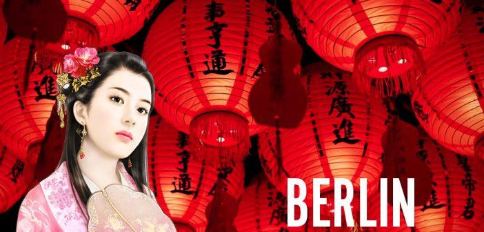 Chinesische Frauen in Berlin treffen