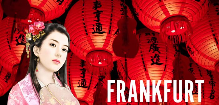 Chinesische Frauen in Frankfurt treffen
