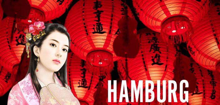 Chinesische Frauen in Hamburg treffen