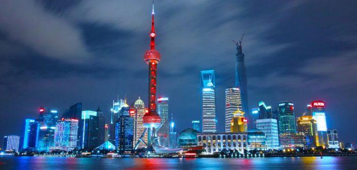 Chinesische Frauen in Shanghai treffen