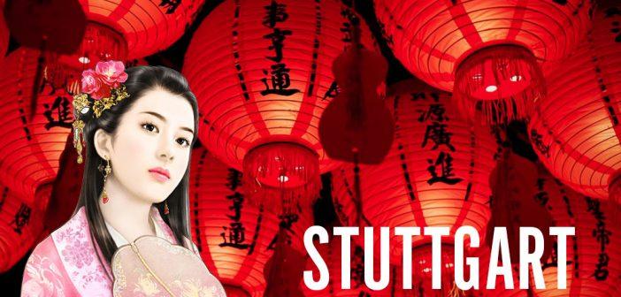 Chinesische Frauen in Stuttgart treffen
